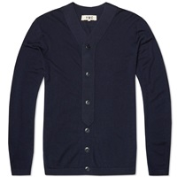 Ymc Baseball Cardigan Navy