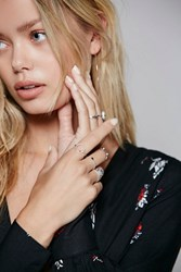 Free People Womens Riri Mega Ring Set
