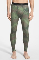 Men's Burton Midweight Base Layer Pants Oil Camo