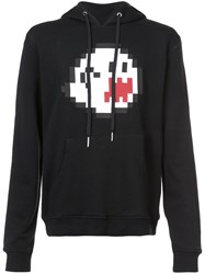 Mostly Heard Rarely Seen Haunting You Hoodie Cotton M Black
