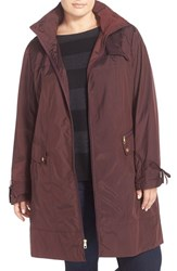 Cole Haan Signature Plus Size Women's Cole Haan Packable Raincoat