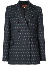 Alexachung Alexa Chung Double Breasted Blazer Black