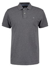 Hackett London Classic Fit Polo Shirt Charcoal Grey