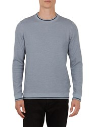 Ted Baker Thersty Sweatshirt Blue Mid