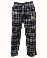 Concepts Sport Men's Pittsburgh Panthers Bleacher Flannel Sleep Pants Navy