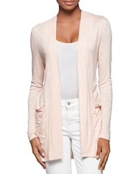 Calvin Klein Jeans Open Front Cardigan Peach Whip