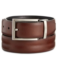 Ryan Seacrest Distinction Feather Edge Reversible Welt Leather Dress Belt Only At Macy's Espresso