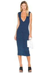 Ag Adriano Goldschmied Capsule Pi Dress Navy