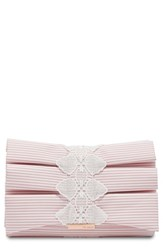 Ted Baker London Box Pleat Evening Bag