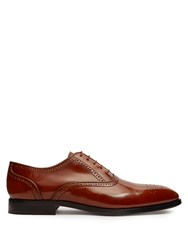 Paul Smith Gilbert Leather Brogues Tan