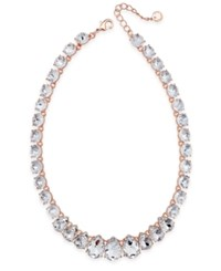 Charter Club Crystal Collar Necklace Created For Macy's Rose