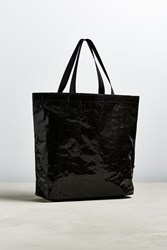 Urban Outfitters Uo Crushed Tarp Tote Bag Black
