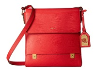 Lauren Ralph Lauren Morrison Crossbody Poppy Cross Body Handbags Red