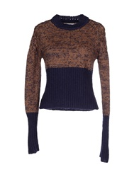Jc De Castelbajac Sweaters Brown