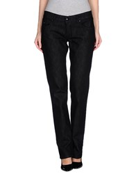 Shaft Denim Denim Trousers Women Black