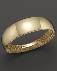 Roberto Coin 18K Yellow Gold Golden Gate Wide Bangle