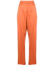 Marques Almeida Marques'almeida High Waisted Suit Trousers 60