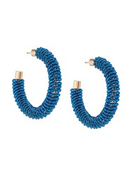 Jacquemus Embellished Earrings Blue