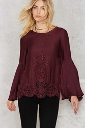 Nasty Gal The Jetset Diaries Verona Crochet Top