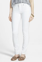 Madewell 9 Inch High Rise Skinny Jeans Pure White