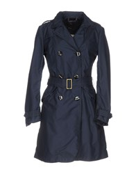 Dek'her Overcoats Dark Blue