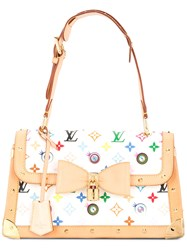 Louis Vuitton Vintage Eye Miss You Shoulder Bag White