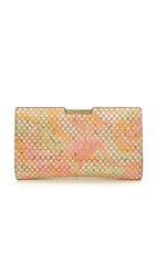 Milly Hinged Small Frame Clutch Multi
