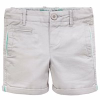 Chateau De Sable French Designer Summer Shorts Taupe Brown