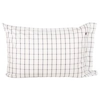 Lexington American Country Pinpoint Check Pillowcase Navy 50X75cm