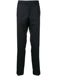 Fay Tailored Trousers Blue