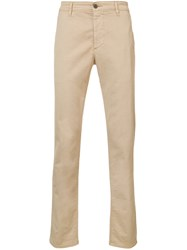 Ag Jeans Marshall Slim Trousers Nude And Neutrals