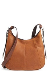 Frye Jacqui Leather Crossbody Bag Brown