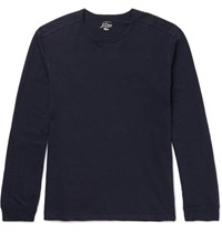 J.Crew Cotton Jersey T Shirt Navy