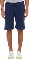 Barneys New York French Terry Sweatshorts Blue Size Small
