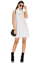 Michael Stars Sleeveless Cowl Shift Dress Ivory
