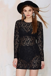 Nasty Gal After Party Vintage Viola Lace Dress