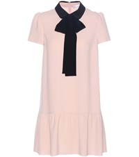 Red Valentino Crepe Dress Pink