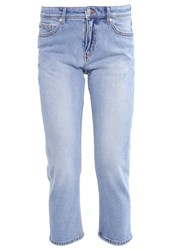 Cheap Monday Level Straight Leg Jeans Light Stone Bleached Denim