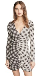 Eckhaus Latta Ripple Dress Optic Grid