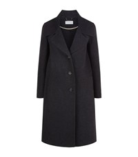 Chloe Belted Overcoat Female Grey