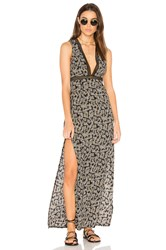 Wyldr See You At Dawn Maxi Dress Black