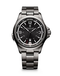 Victorinox Swiss Army Night Vision Watch 42Mm Silver