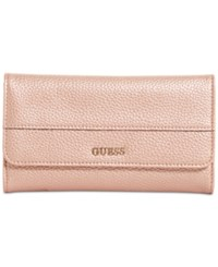 Guess Katiana Slim Clutch Boxed Wallet A Macy's Exclusive Style Rose Gold