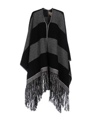 Nude Capes And Ponchos Black