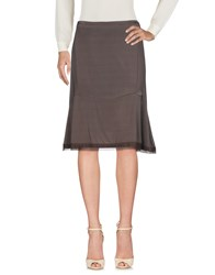 Le Fate Knee Length Skirts Lead