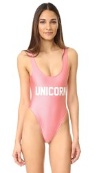 Private Party Unicorn One Piece Pink