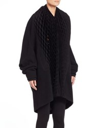 Junya Watanabe Oversized Pleat Detail Coat