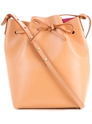 Mansur Gavriel Bucket Tote Women Leather One Size Brown