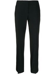 Alexander Mcqueen Side Stripe Tailored Trousers Black