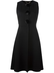 Salvatore Ferragamo Sleeveless Coat Black